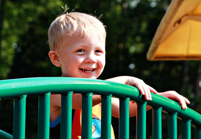 July 2, 2011 Caleb Miller at Hayswood park.