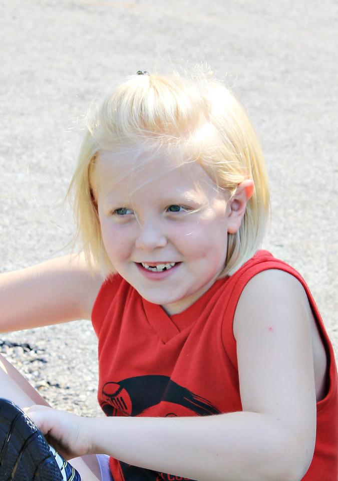 July 2, 2011 Lauren Miller at Hayswood park.