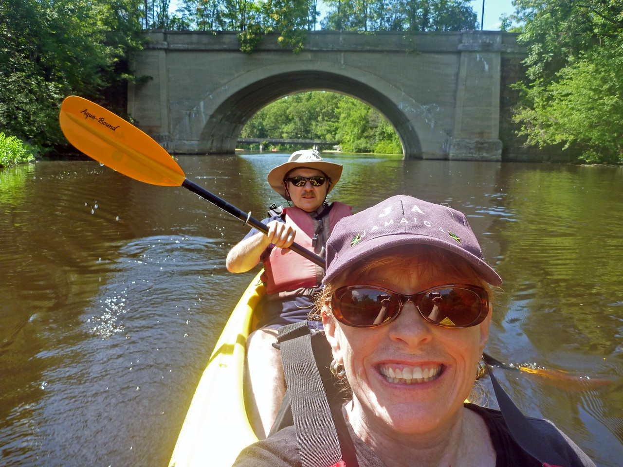 kayaking on the Charles July 11, 2011