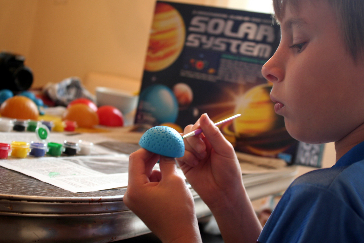 Day two of the solar system creation
