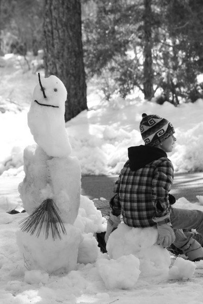 the snowman and the lookout