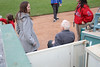 89 1/2 year old Norm and great granddaughter 7 1/2 year old Sydney sang the National Anthem for the Inland Empire 66ers baseball game - 20