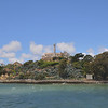 Alcatraz from one end, showing just how small this place is.