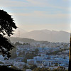 This is the view from Buena Vista Park on Haight Street looking north to the Golden Gate Bridge. Once again, beautiful, clear days, which are unusual for a San Fran summer.