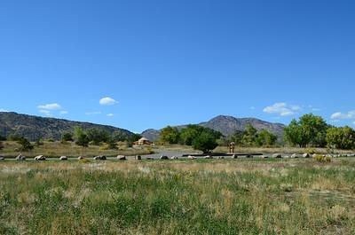 yurts at Bear Creek Regional Park