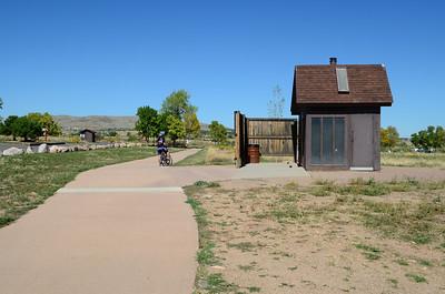 bike trail at Bear Creek Regional Park