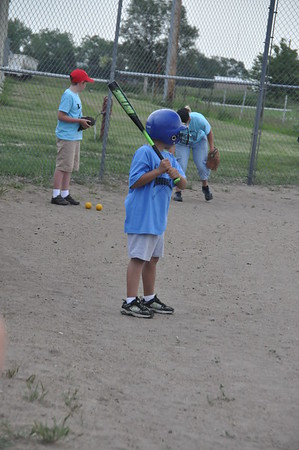 2011-06-13 AJ Baseball machine pitch game