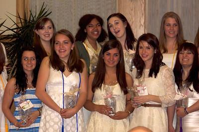 The graduating class of Nazareth Academy 2011