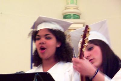 Samantha singing the Responsorial