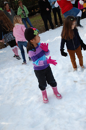 December 17, 2011 - Snow Day at the Houston Zoo