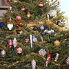 Xmas tree decorated