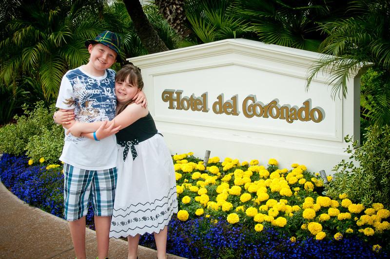 4.24.2011 - Easter 2011 at the Hotel del Coronado in San Diego.
