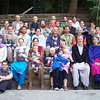 This is the group photo we took during the TEAM annual conference in Murree two weeks ago. You can see there are lots of kids, and we're about to add to the number!