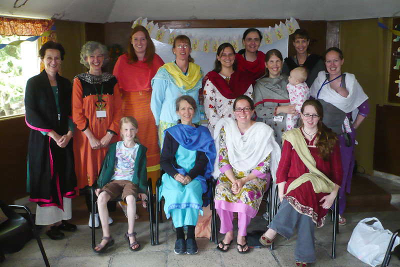 During our recent TEAM annual conference in Murree the women had a baby shower for Erin.