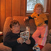 Reading with grandma