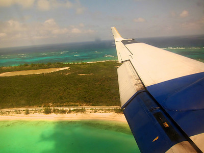 Flying to Eleuthera