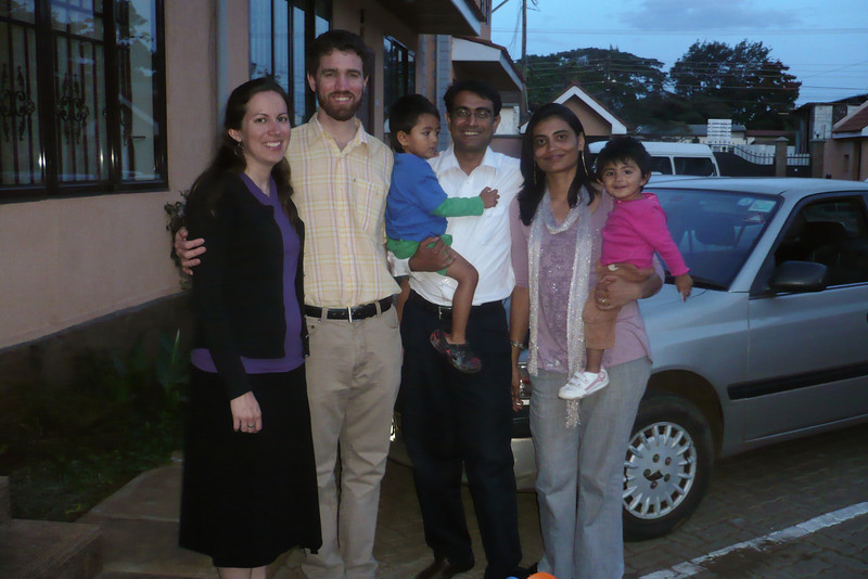 We enjoyed an evening with Hash and Deepa Gudka and their family
