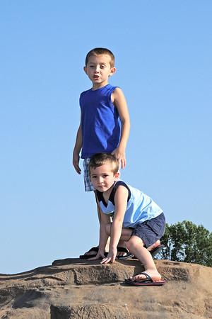 2011 - Grandkids at Playground - Aug 10