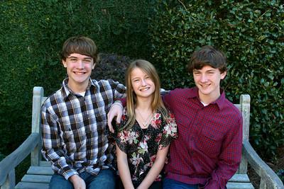 Bain Family Christmas Card