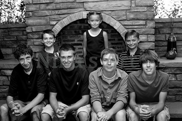 Hinchley Family 2011 bw