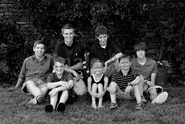 Hinchley Family 2011 (3)bw