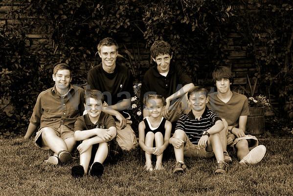 Hinchley Family 2011 (3)sepia