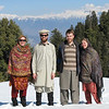 Behind us are the beautiful Kaghan Himalaya, with summits up to 17,000 ft.