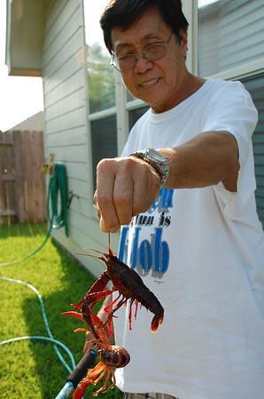 June 2, 2011 - Grammy and Granpa Crawfish Boil