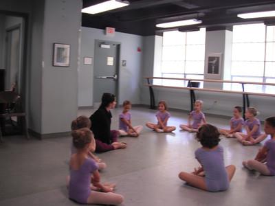 Sarah's Ballet Observation Day