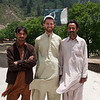 Me with two of the teachers at the Naran school, Shabeer (3rd grade) and Naseer (2nd grade).