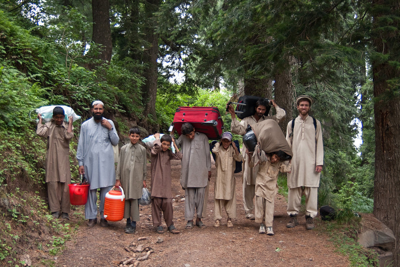 Erin always says men and boys in Pakistan wear drab colors...