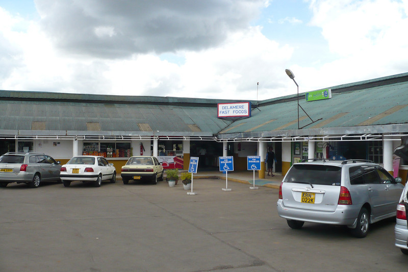 The Delamare yoghurt shop on the Naivasha highway is apparently doing pretty well, and has turned into a huge shopping center
