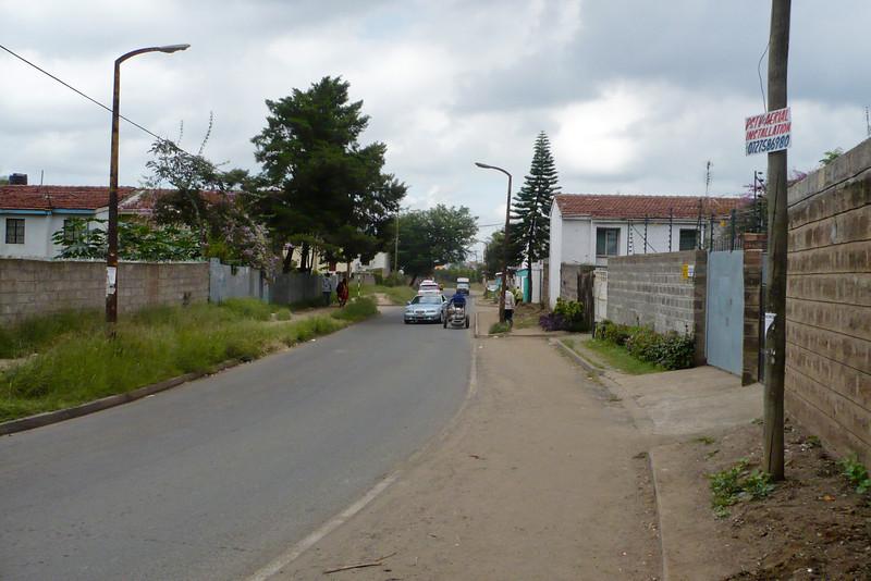 Mbaruk Road, looking towards Kenyatta Market