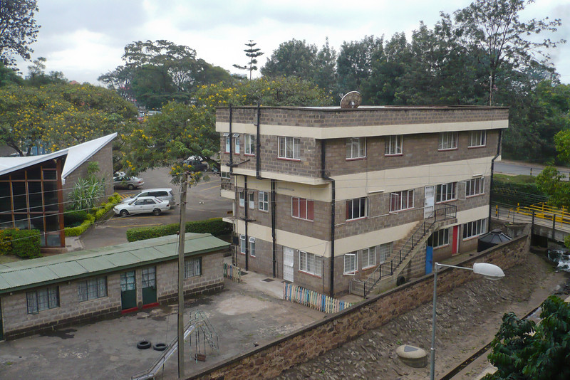 Nairobi Baptist Church - I remember playing in this playground sometimes when I was really little