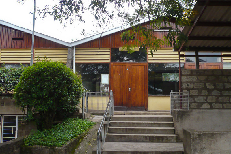 Nairobi Baptist Church! This is the building we used to have Sunday School in.