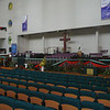 Nairobi Baptist Church - inside the new sanctuary