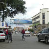 "Downtown Nakuru in 2011 - the traffic light still doesn't work. The license plate on the car on the right is ""KBD;"" we even saw ""KBN"" cars (like ""KBN123A"" or whatever)."