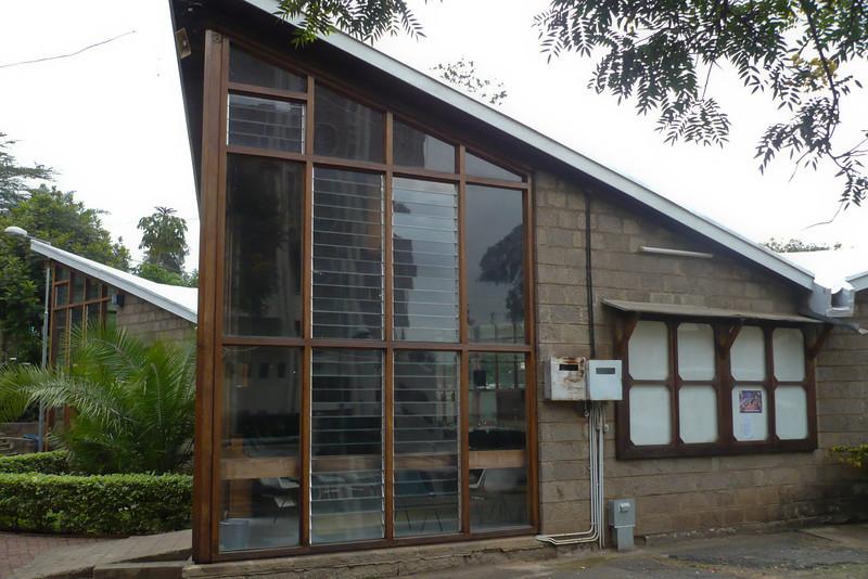 Nairobi Baptist Church - the old sanctuary
