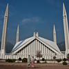 Faisal Mosque, Islamabad: one of the largest mosques in Pakistan and in the world actually