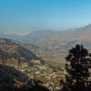 Looking back up the Kaghan Valley