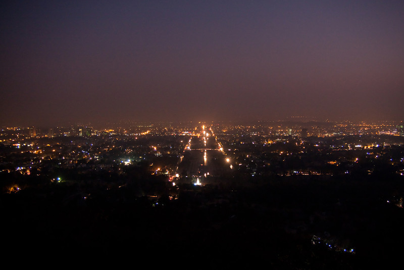 Islamabad in the evening, from Damn-e-Koh