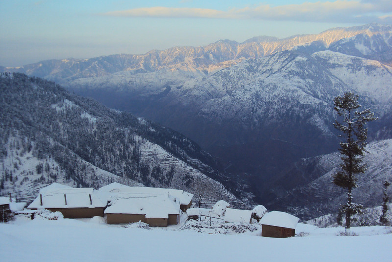 We spent about two days and nights in this homestead, about 7500 feet up in the Himalaya