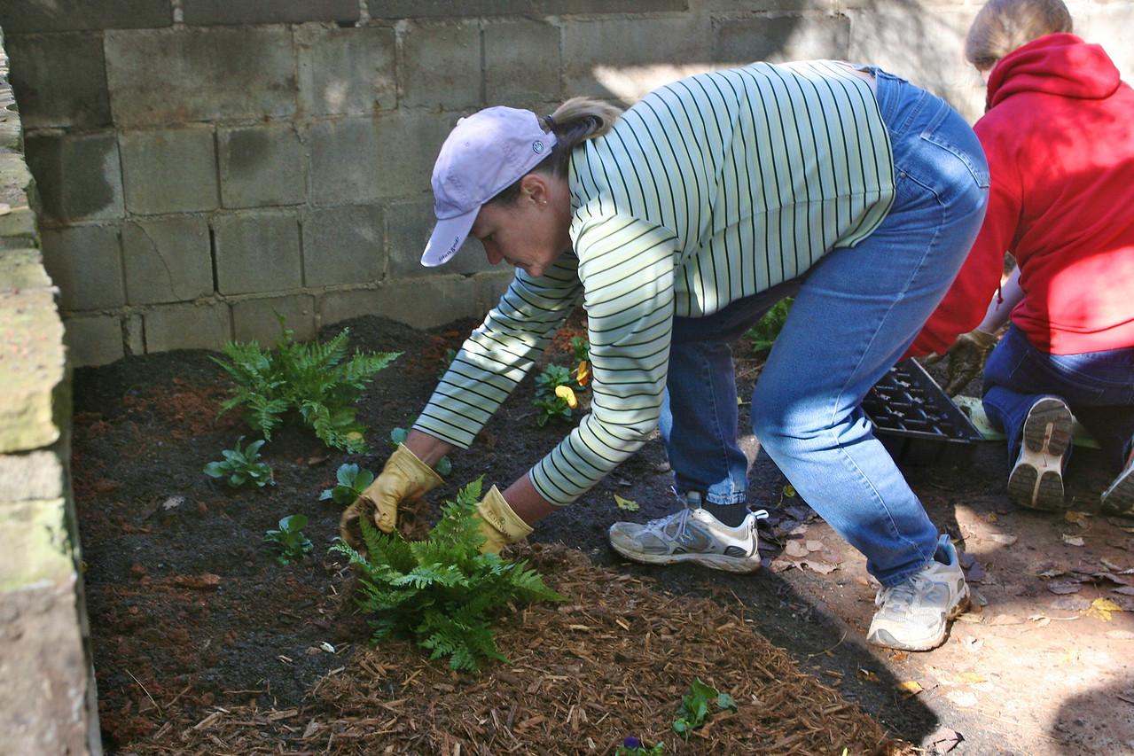 Dee gets the Secret Garden going