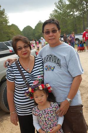 November 13, 2011 - Tex Ren Fest with Grandma, Grandpa and Hoffpauir/Wongs
