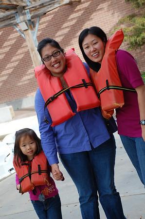 November 25, 2011 -  Paddle Boat ride in Hermann Park with Aunty Bernice