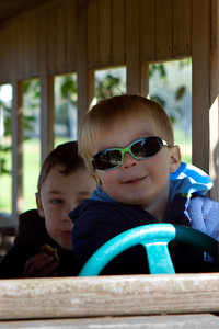 Ethan drives the bus (2 of 3).