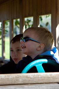 Ethan drives the bus (3 of 3).