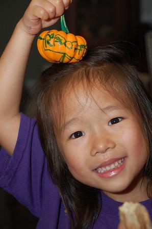 October 30, 2011 - Carving Pumpkins