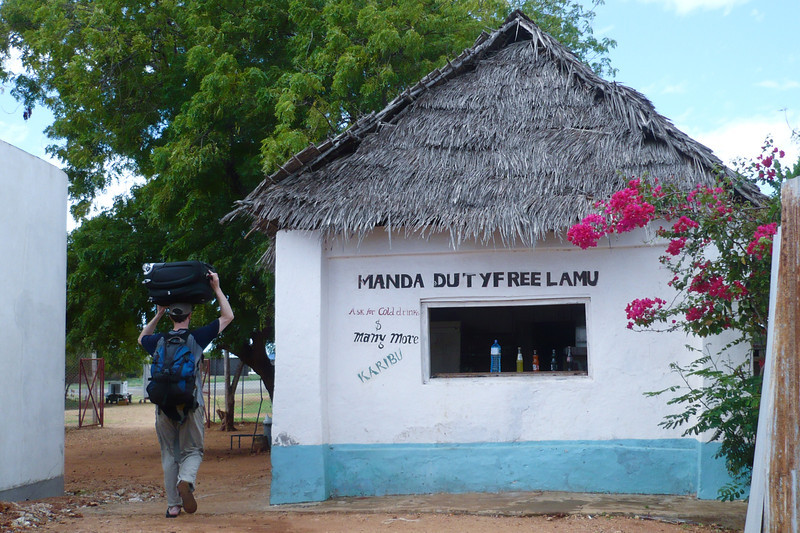 Duty Free, Lamu. Shopping, anyone?