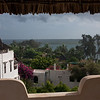 The view from our guest house in Shela Beach, Lamu